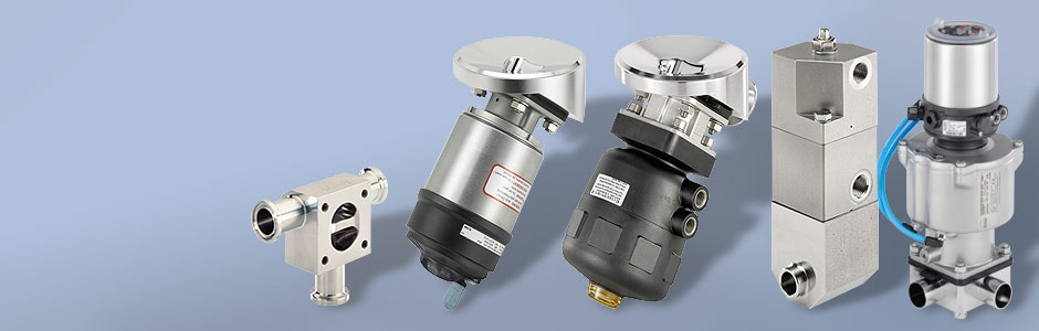 Hygienic Speciality process valves